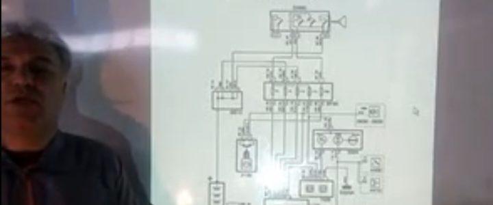 تحلیل نقشه سیستم ABS